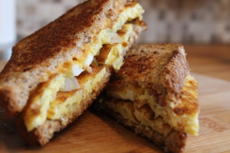 Day 9:Breakfast Grilled Cheese