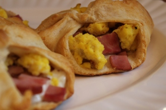 Day 11: Ham, Swiss and Egg Breakfast Pies